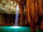 cenote dziptnut of mexico