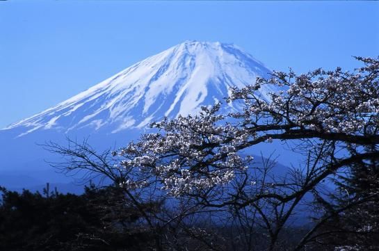 Fujiyama mountain in Japan