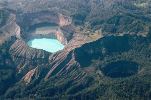 Kelimutu Lake of Flores in Indonesia