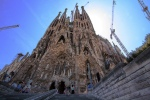 Sagrada Familia from ancient