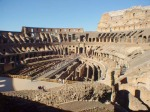 the great colosseum of Italy