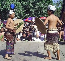 Bali traditions shows