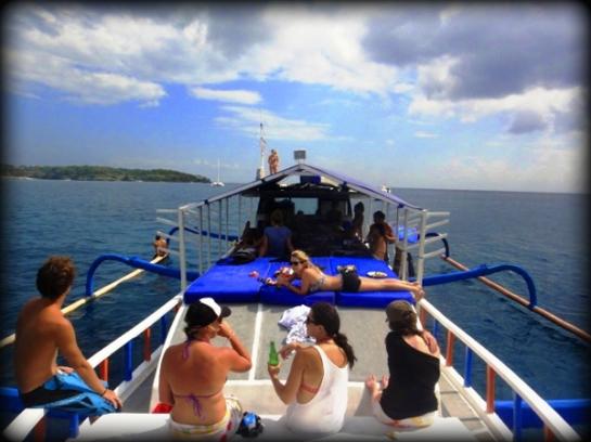 Cruise trip in Bali