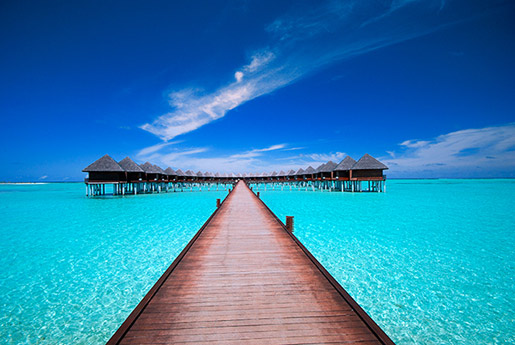 maldives resort and cotages