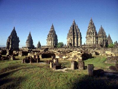 Prambanan Temple of Indonesia
