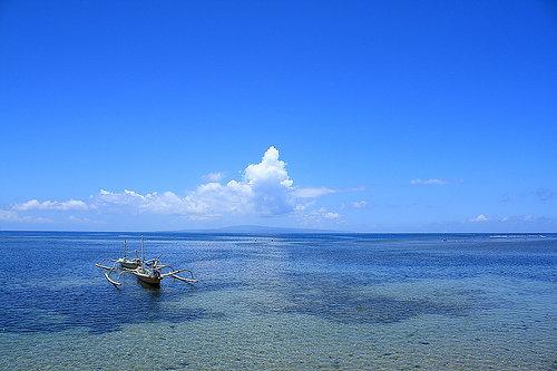 Sunny in Shindu beach